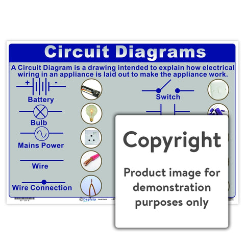 Circuit Diagrams Wall Charts And Posters