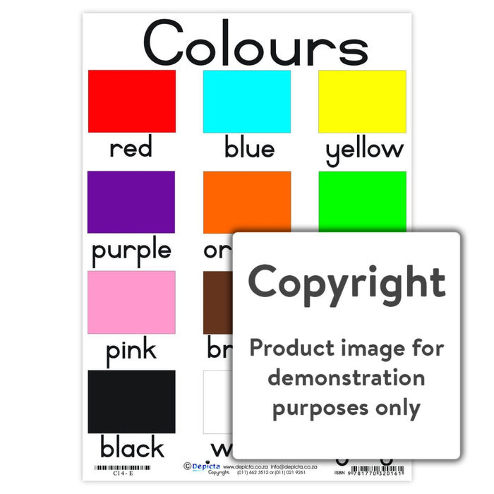 Colours Wall Charts And Posters