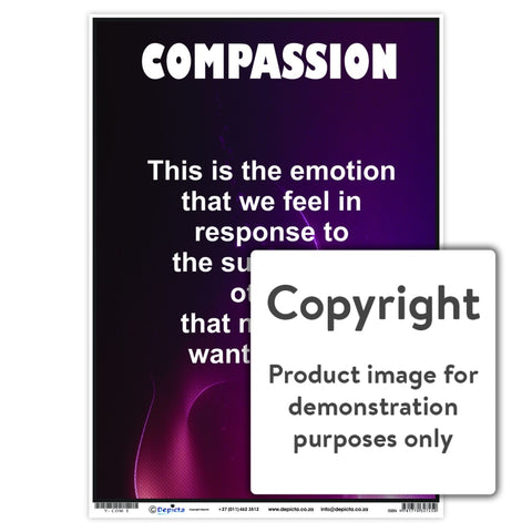 Compassion Wall Charts And Posters