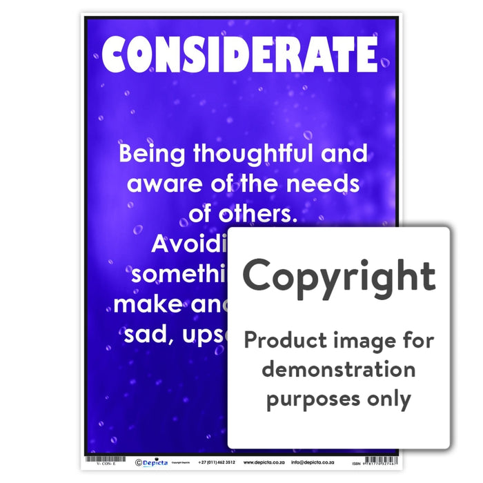 Considerate Wall Charts And Posters