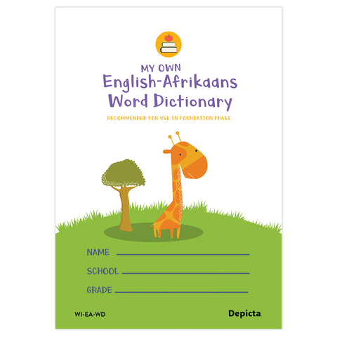 My Own English-Afrikaans Word Dictionary