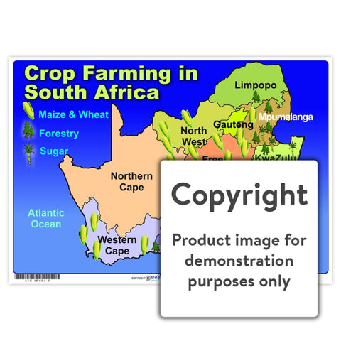 Crop Farming In South Africa Wall Charts And Posters