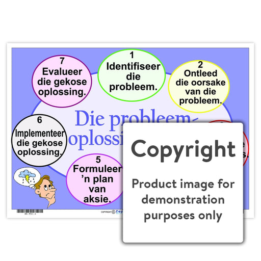Die Probleemoplossingsiklus Wall Charts And Posters