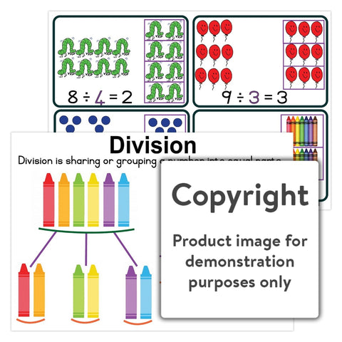 Division Wall Charts And Posters