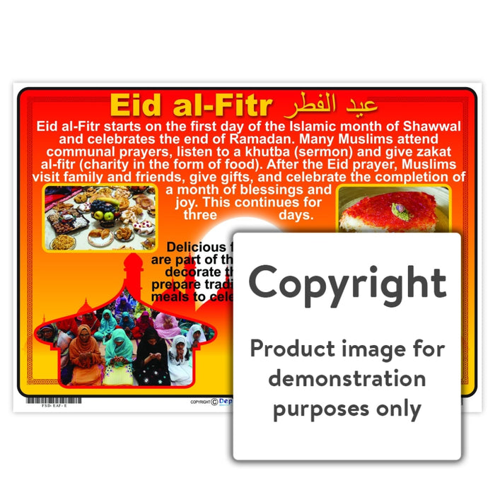 Eid Al-Fitr Wall Charts And Posters