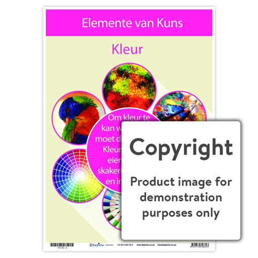 Elemente Van Kuns - Kleur Wall Charts And Posters