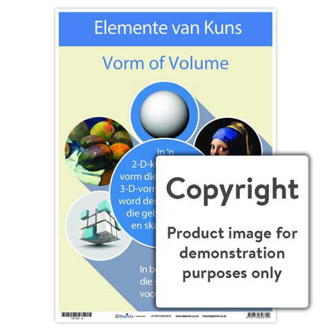 Elemente Van Kuns - Vorm Of Volume Wall Charts And Posters