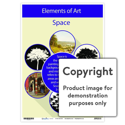Elements Of Art - Space Wall Charts And Posters