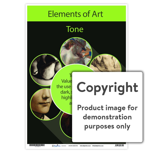 Elements Of Art - Tone Wall Charts And Posters