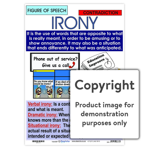 Figure Of Speech: Irony Wall Charts And Posters