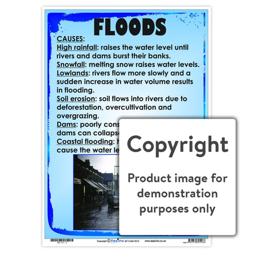 Floods Wall Charts And Posters