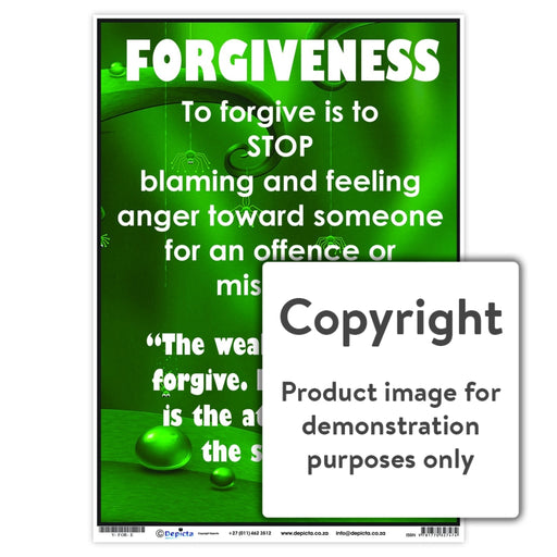 Forgiveness Wall Charts And Posters
