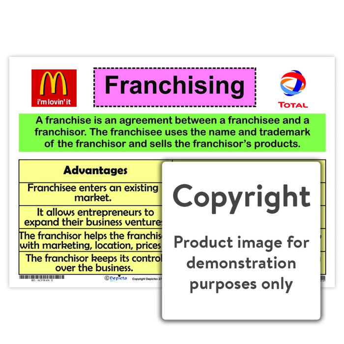 Franchising Wall Charts And Posters
