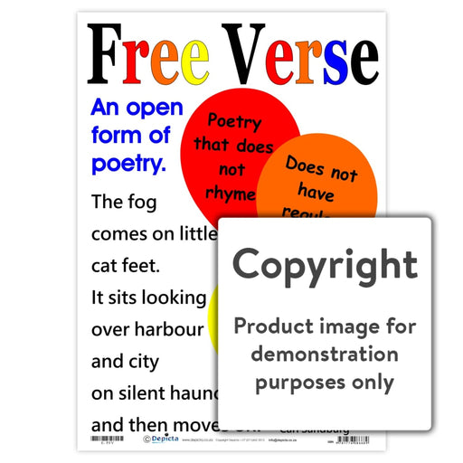 Free Verse Wall Charts And Posters