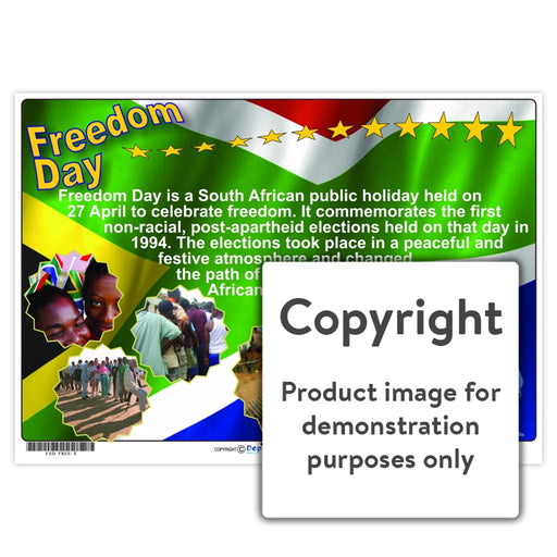 Freedom Day Wall Charts And Posters