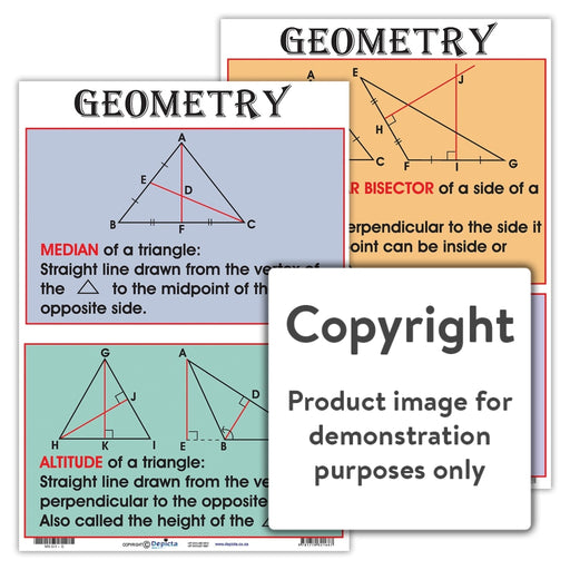 Geometry Wall Charts And Posters
