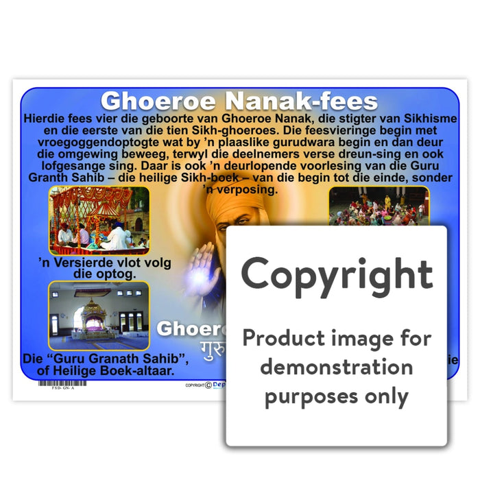 Ghoeroe Nanak-Fees Wall Charts And Posters