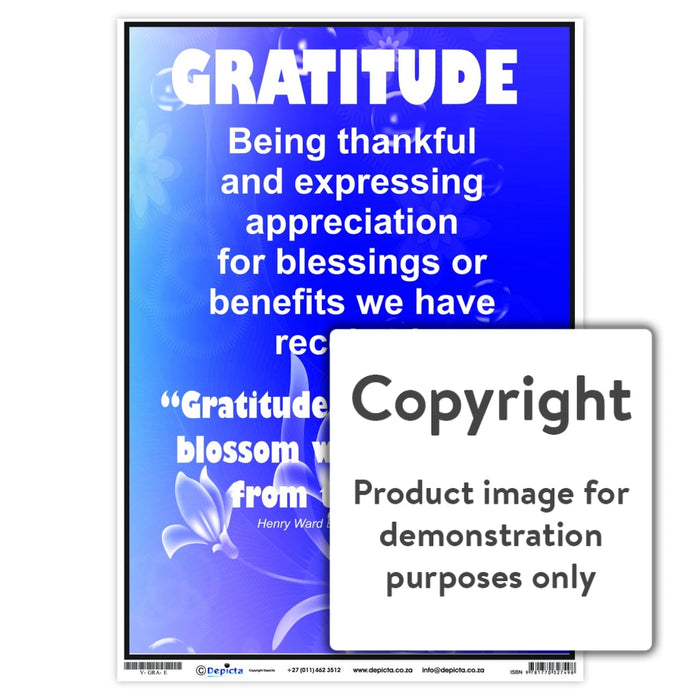 Gratitude Wall Charts And Posters