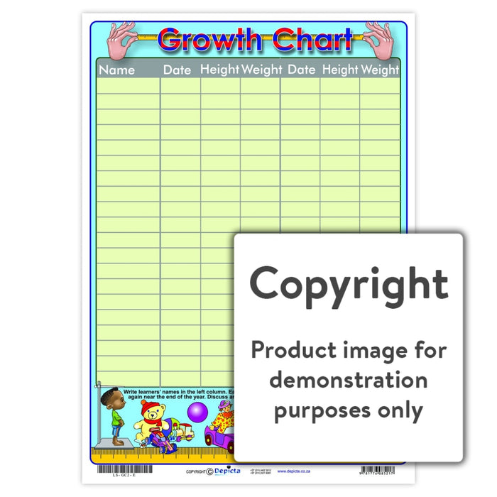 Growth Chart 2 Wall Charts And Posters