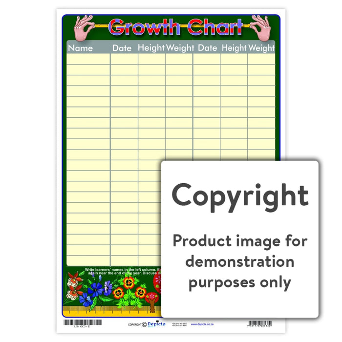 Growth Chart 3 Wall Charts And Posters