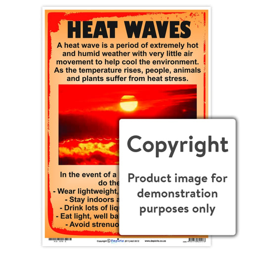 Heat Waves Wall Charts And Posters