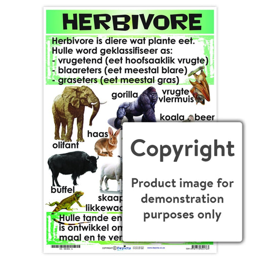Herbivore Wall Charts And Posters