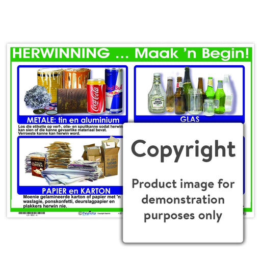 Herwinning ... Maak N Begin! Wall Charts And Posters