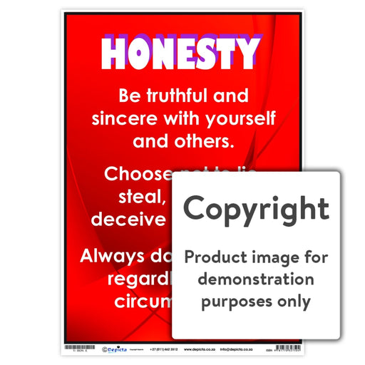 Honesty Wall Charts And Posters