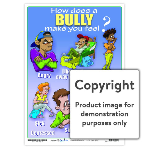 How Does A Bully Make You Feel (High School) Wall Charts And Posters
