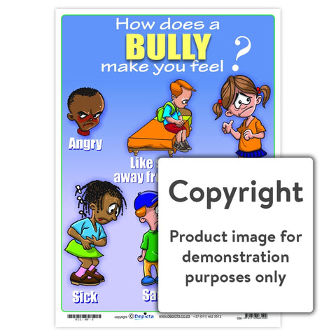 How Does A Bully Make You Feel (Primary School) Wall Charts And Posters