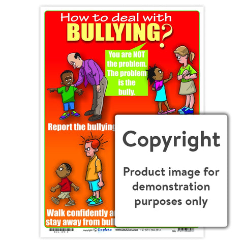How To Deal With Bullying (Primary School) Wall Charts And Posters