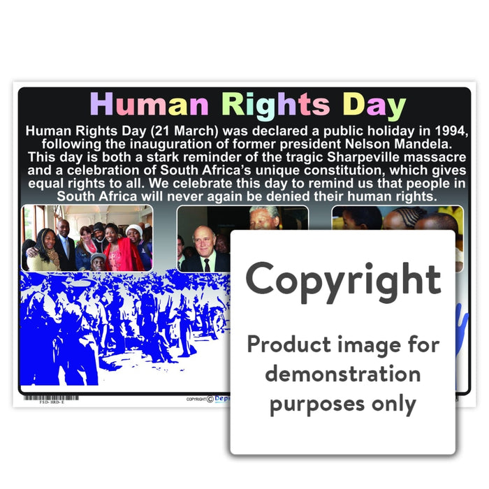 Human Rights Day Wall Charts And Posters
