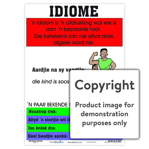 Idiome Wall Charts And Posters