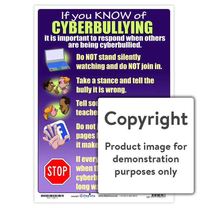 If You Know Of Cyberbullying Wall Charts And Posters