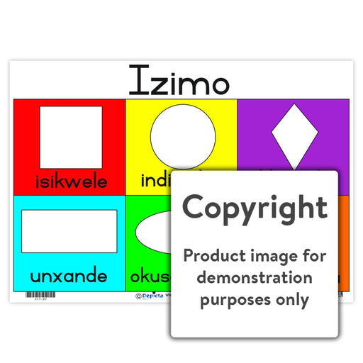 Izimo (Shapes) Wall Charts And Posters