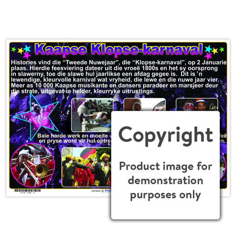 Kaapse Klopse-Karnaval Wall Charts And Posters