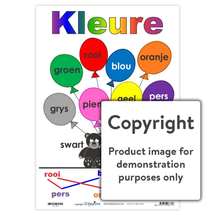 Kleure - Ballonne Wall Charts And Posters