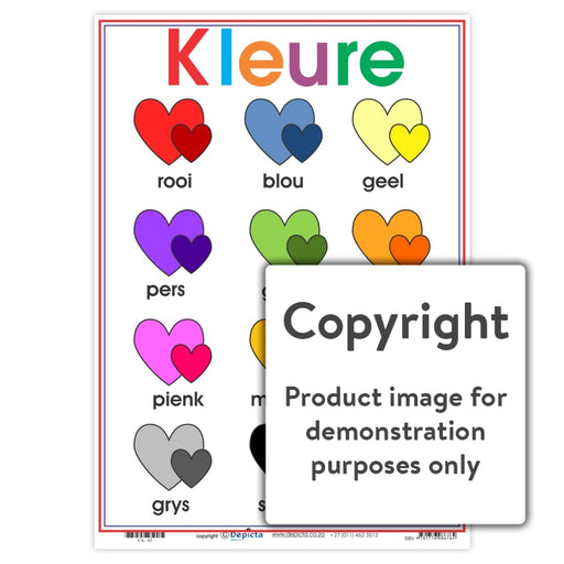 Kleure - Harte Wall Charts And Posters