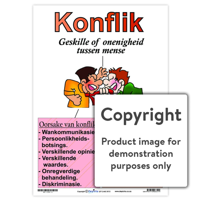 Konflik Wall Charts And Posters