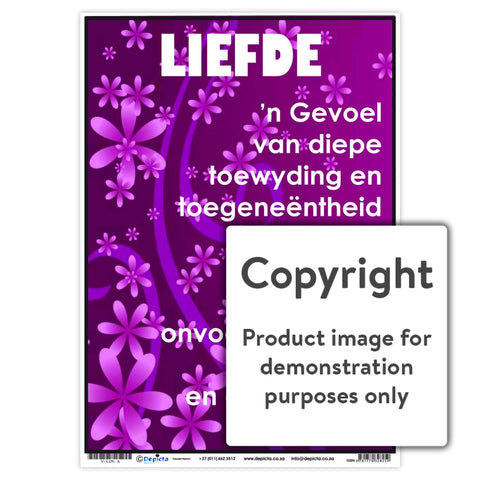 Liefde Wall Charts And Posters