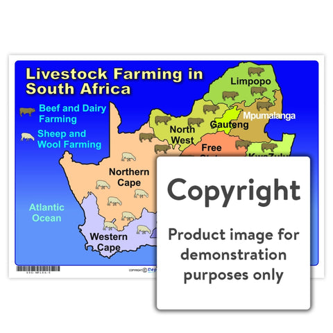 Livestock Farming In South Africa Wall Charts And Posters