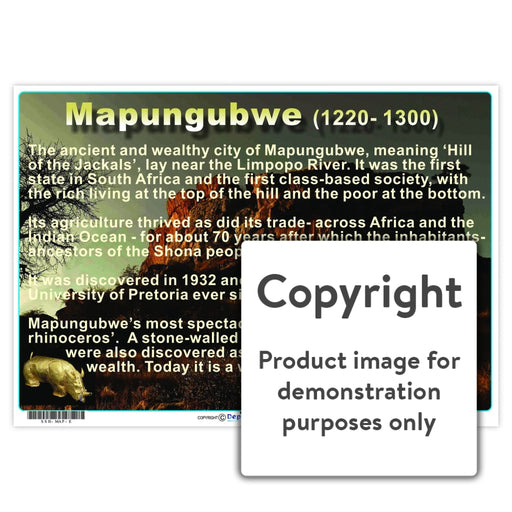 Mapungubwe Wall Charts And Posters