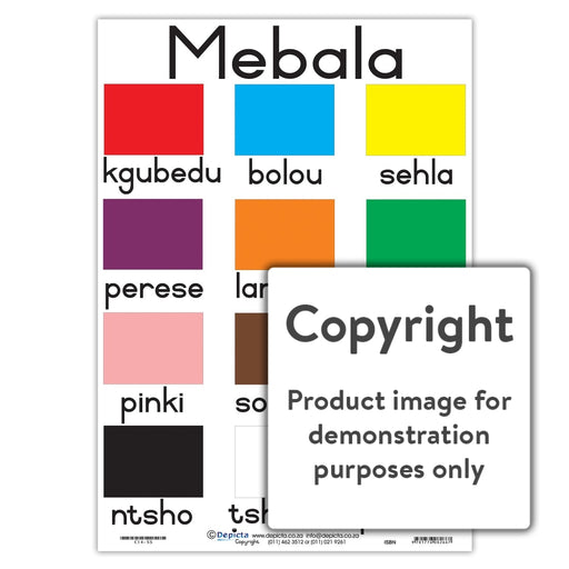 Mebala (Colours) Wall Charts And Posters