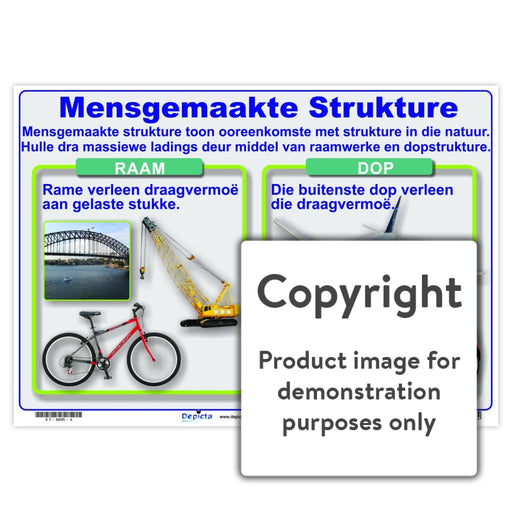 Mensgemaakte Strukture Wall Charts And Posters