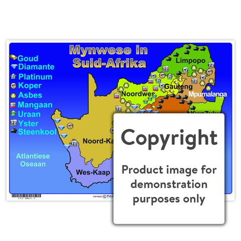 Mynwese In Suid-Afrika Wall Charts And Posters