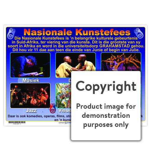 Nasionale Kunstefees Wall Charts And Posters