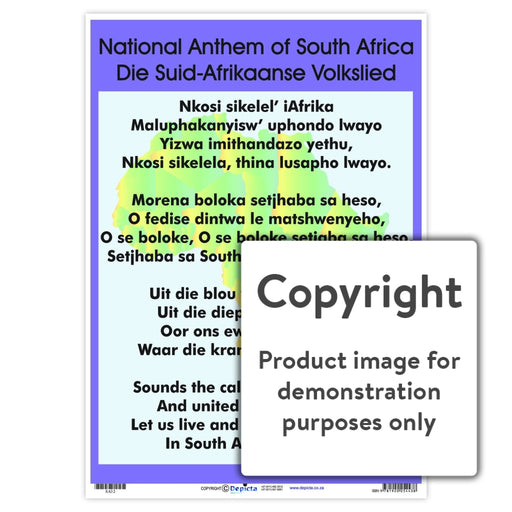 National Anthem / Volkslied Wall Charts And Posters