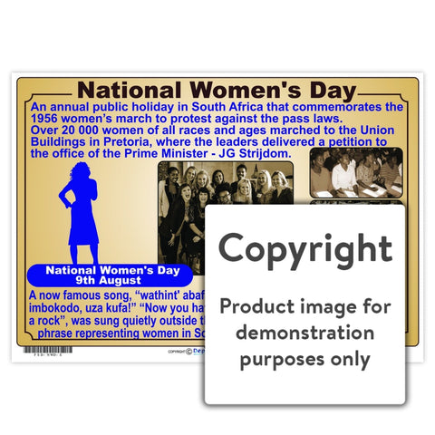 National Womens Day Wall Charts And Posters