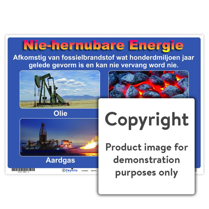 Nie-Hernubare Energie Wall Charts And Posters