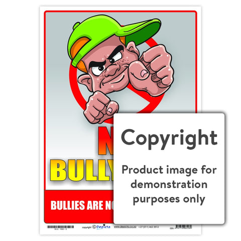 No Bully Zone Wall Charts And Posters